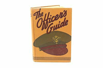 WW2 US Army : The Officer's Guide Hardcover Book Copyright 1943