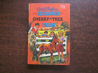 THE CHILDREN OF CHERRY TREE FARM Enid Blyton Vintage 1972 HC Book #39 Dean Son