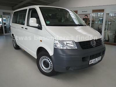 volkswagen t5 transporter kombi 9 sitzer klima ahk pdc. Black Bedroom Furniture Sets. Home Design Ideas