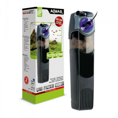 Aquael UniFilter 1000 UV Fish Tank Internal Filter - for Aquariums up to 350L