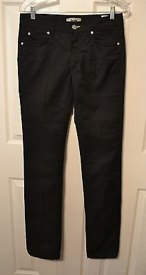 Acne Jeans Hex New Black Slim Uniqe Rare Jeans Denim W29 L34