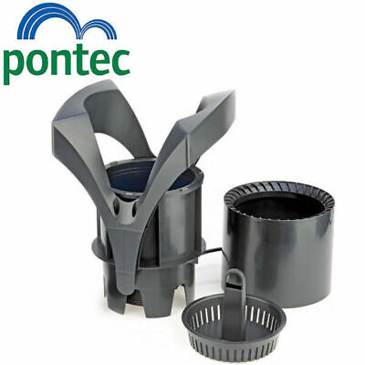 Pontec PondoSkim Floating Koi Fish Pond Surface Skimmer Pump 2000L/h Ponds 20m²