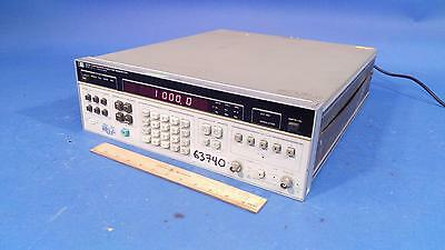 HP Agilent Hewlett-Packard 3325A Synthesizer / 10MHz Function Generator