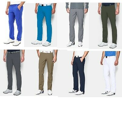 *new 2018* Under Armour Match Play Mens Tapered/straight Golf Trousers All Sizes