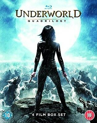 Underworld Quadrilogy 1-4 NEW BLU-RAY (EBR5273)