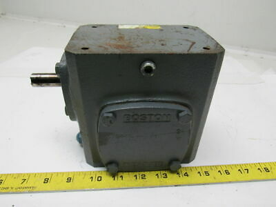 Boston Gear 71810G Gearbox Speed reducer 10:1 Ratio 460lb-in. Torque