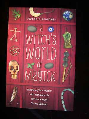 Brand New! A Witch's World Of Magick Achieve Higher Levels Of Success Wicca