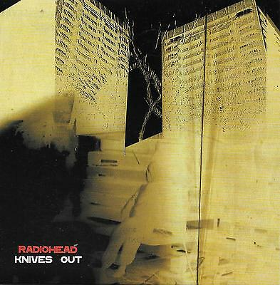 RADIOHEAD  Knives Out  promo CD single with PicCover