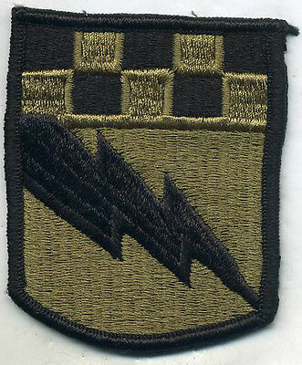 US Army 525th Military Intelligence Brigade Multicam Patch