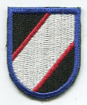 Vintage US Army Unknown ABN Flash Patch Cut Edge