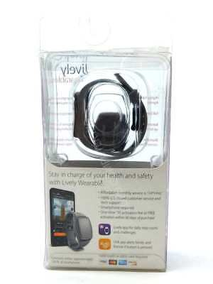 NEW GreatCall Lively Wearable Fitness Tracker with Exclusive Urgent Response