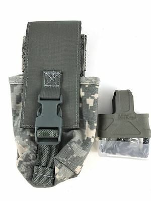 NEW MOLLE II Thunder Tactical Mag Pouch, MAC MMH Holder, CQB Kit, ACU Army Camo