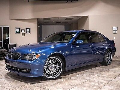 2007 BMW 7-Series  2007 BMW ALPINA B7 Sedan Alpina Blue Supercharged 4.4 Liter V8 $115K+MSRP Loaded