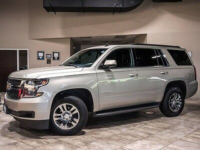 2015 Chevrolet Tahoe LT Sport Utility 4-Door 2015 Chevrolet Tahoe LT 4X4 Silver/Black BOSE Navigation Flex Fuel Excellent WOW