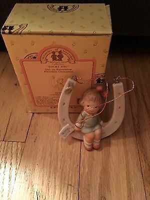 """""""lucky You"""" Ornament Memories Of Yesterday 525847 New In Box"""