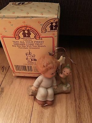 """""""may All Your Finest Dreams Come True"""" Ornament Memories Of Yesterday 528811 New"""