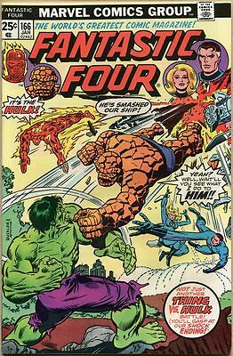 Fantastic Four #166 - VF+