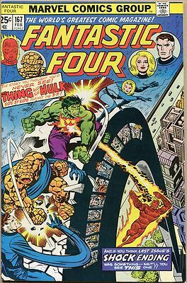 Fantastic Four #167 - VF+