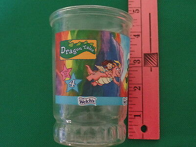 Welch's Glass Jelly Jar: Dragon Tales Catching Colors #4