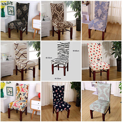 Chair Cover Dining Room Wedding Banquet  Party Decor Seat Cover Stretch Spandex