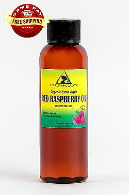 Red Raspberry Seed Oil Unrefined Organic Extra Virgin Cold Pressed Pure 2 Oz