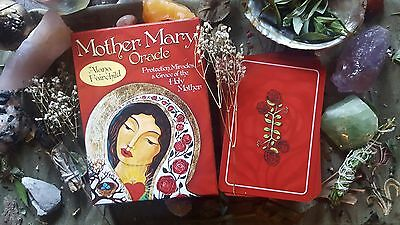 Mother Mary Oracle Guide Book & Cards Affirmation Wisdom Healing Divine Tarot