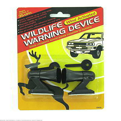 24 Wild Life Warning Devices Wind Activated