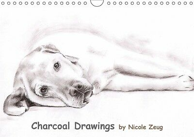 Charcoal Drawings (Wandkalender 2017 DIN A4 quer)