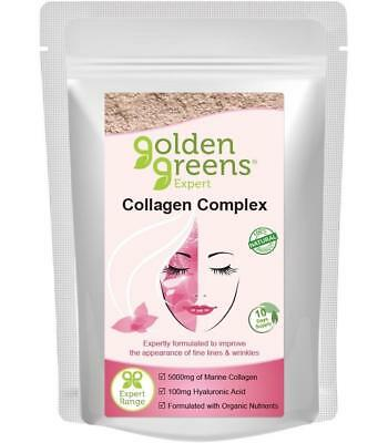 Golden Greens Expert Collagen Complex 100g or 300g *Gluten & Lactose Free*