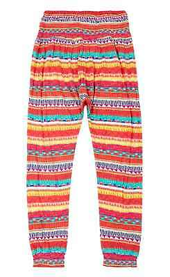 Girls Trousers Aztec Print Marks & Spencer Casual Dance Harem 5-14 Years New