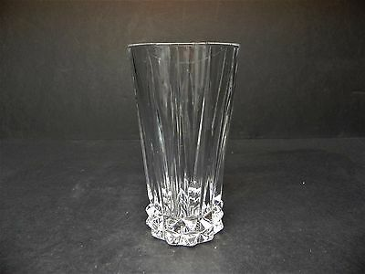 """Roosenthal Cut Crystal Blossom 6 1/8"""" Tall Beverage Glass"""