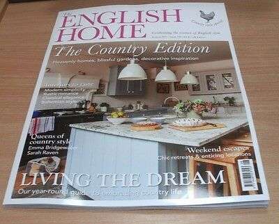 The English Home magazine AUG 2017 Country Edition, Weekend Escapes, Interiors &