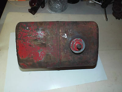 """Vintage Hit and Miss Fuel Gas Tank Tractor 10"""" long by 5"""" USEd"""