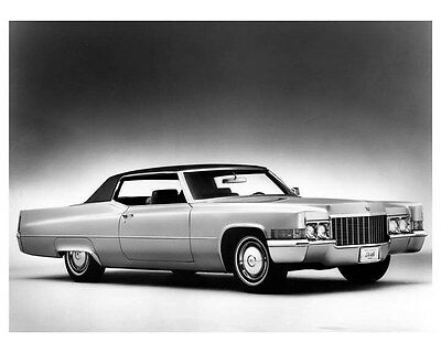 1970 Cadillac Coupe DeVille Factory Photo ua9398
