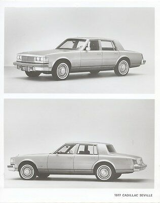 1977 Cadillac Seville Factory Photo ua9379
