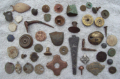 Dug Lot Artifacts/partifacts Metal Detecting Finds Medieval And Later.