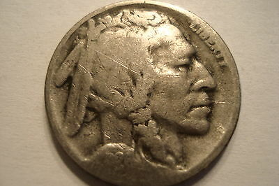 1926-S  'f'  Five Cent Buffalo Nickel Very Nice L@@k No Reserve