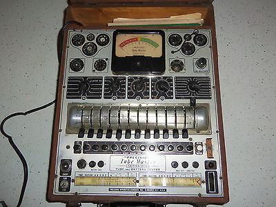 Precision Tube Master 10-12 Tube Tester Untested Parts only