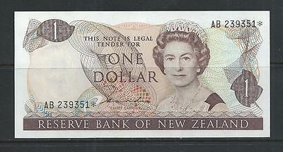 NEW ZEALAND - P169a* REPLACEMENT - $1 (1981-85) - AU-UNC
