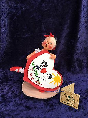 Annalee Dolls - 1994 7-inch Sweetheart Girl With Tags
