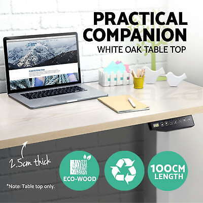 Table Top for Height Adjustable Standing Desk Frame Sit Stand Desk Top Office