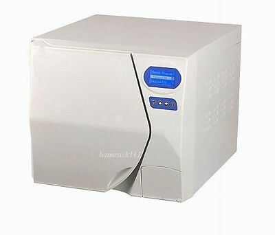 Tonshuo LCD DiSplay Full-Automatical Steam Sterilizer 14B+ with Printer 14L HO