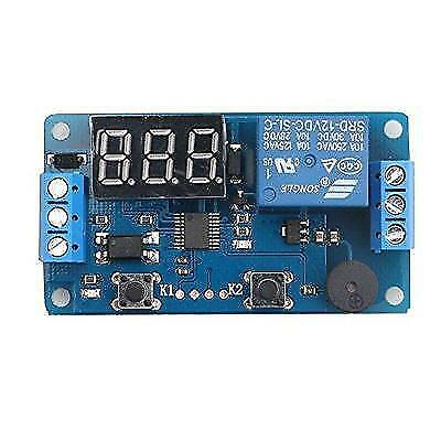 12V Display LED Timer Relay Programmable Digital Readout Module Delay Switch