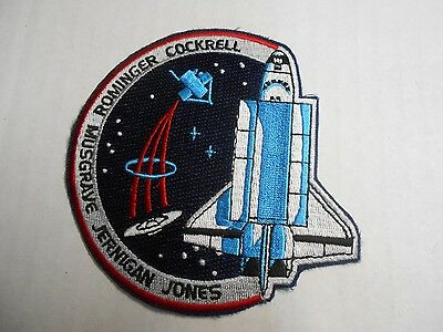"NASA STS-80 Columbia Space Shuttle Mission Embroidered Arm Patch 3.5""  NEW"