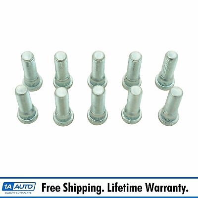 Wheel Lug Stud Front or Rear Set of 24 Compatible with Chevy Geo Lexus Pontiac Scion Toyota