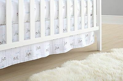 NEW in Box Aden + Anais Classic Crib Skirt, Liam The Brave, Dogs