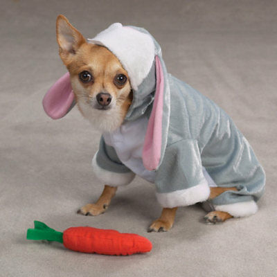 Dog Puppy Halloween Costume - Bunny Rabbit - Large L