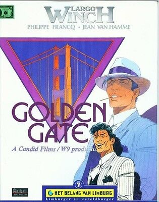Largo Winch 11: Golden Gate.        Reclame-uitgave!