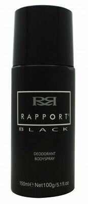 Dana Rapport Black Deodorant Body Spray - Men's For Him. New. Free Shipping