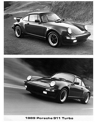 1989 Porsche 911 930 Turbo Factory Photo ca7698
